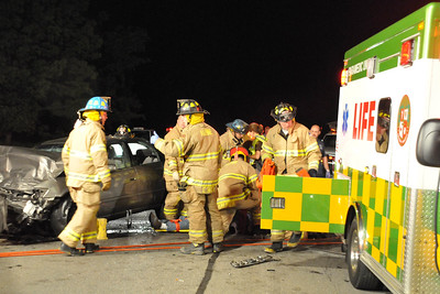 MVA Two Car Head On Collision M37 and 8 Mile
