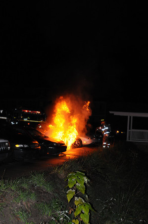 October 6, 2008 - Car Fire