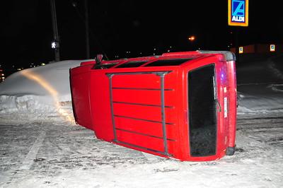 Roll Over Accident January 10, 2009