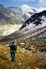 Descent from the Col du Tsaté to the Val de Moiry.<br /> <br /> 2.30pm, 23/09/98