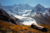 In the Comba Rossa, above the Moiry glacier.<br /> <br /> 2pm, 24/09/98