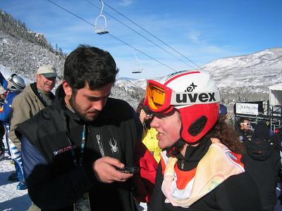 Stacey Cook talks to Ski Racing magazine (Dec. 10)