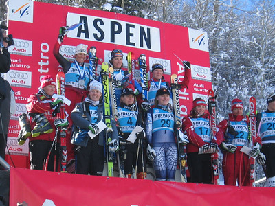 Top-10 finishers at the Sirius Aspen Winternational super G (Dec. 9). Kirsten Clark finished fifth and Lindsey Kildow seventh.