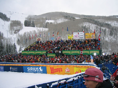Crowds at Visa Birds of Prey downhill (Dec. 2)