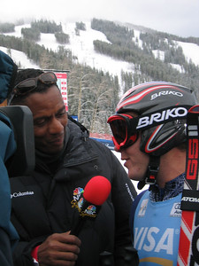 Bode Miller talks with NBC Sports about the Visa Birds of Prey downhill (Dec. 2)