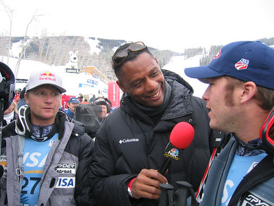 Daron Rahlves and Bode Miller speak with NBC Sports (Dec. 2)