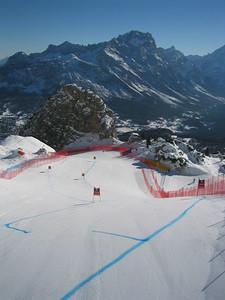 Cortina's Olympia delle Tofane race course