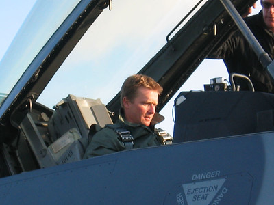 D. Rahlves gets ready for take-off