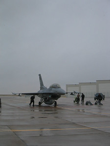 F-16 ready for take-off