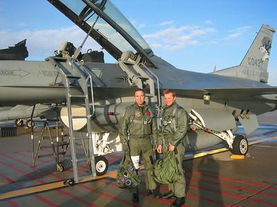Lt. Col Curt Hughes and D. Rahlves