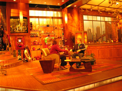 ESPN Cold Pizza's Dana Jacobson interviews 2006 Olympic combined gold medalist Ted Ligety live in the NYC studio (March 21, 2006)