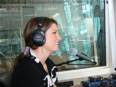 Olympic gold medalist Julia Mancuso LIVE on Sirius Sattellite radio. Credit: ATC for USSA