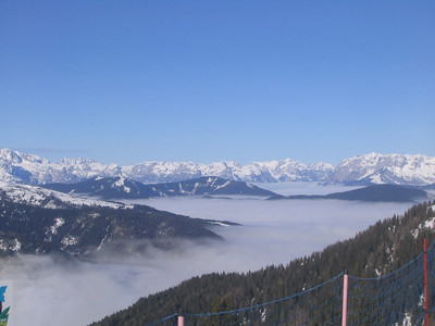 The view from the top of Zauchensee down the valley to Altenmarkt (credit: USSA)