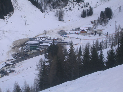 The lift house and finish area (credit: USSA)