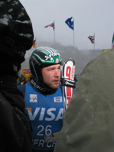 Visa Birds of Prey downhill winner Bode Miller (Bretton Woods, NH) speaks with NBC Sports (Dec. 1)