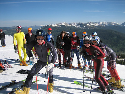 NDS June Camp at the top of Copper Mountain's Ptarmigan run.