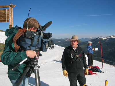 NDS Director Walt Evans does an interview with Denver's KUSA Ch. 9