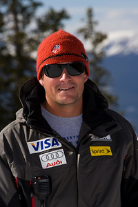 Patten, Rewk WC DH/SG Coach  U.S. Ski Team Photo © Jonathan Selkowitz Editorial use only