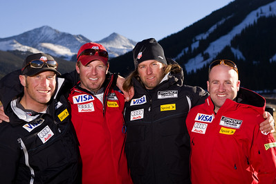 Europa Cup Team 2007 U.S. Ski Team Coaches Photo © Jonathan Selkowitz Editorial use only