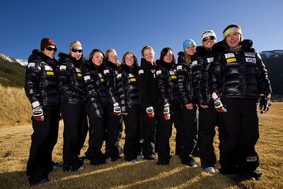 Europa Cup Team 2007 U.S. Ski Team Photo © Jonathan Selkowitz Editorial use only