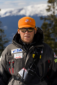 Brigham, Chris WC DH/SG Head Coach U.S. Ski Team Photo © Jonathan Selkowitz Editorial use only