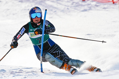 World Cup champion Lindsey Vonn wins the U.S. slalom title at the Nature Valley U.S. Alpine Championships, Sugarloaf/USA, Maine. Photo © Kris Dobie.  Most Images in this gallery may be used only for editorial use with advance approval by USSA. Photos © Kris Dobie.