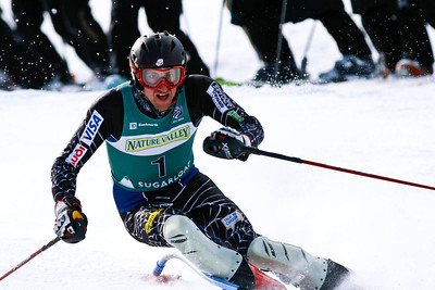 Jimmy Cochran repeats as U.S. slalom champion at the Nature Valley U.S. Alpine Championships, Sugarloaf/USA, Maine Photo © Kris Dobie.  Most Images in this gallery may be used only for editorial use with advance approval by USSA. Photos © Kris Dobie.