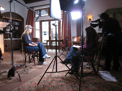 Lindsey Vonn during a satellite media tour on Wednesday, Nov. 25 to promote the Aspen Winternational in Aspen, CO.  Photo: Doug Haney/U.S. Ski Team