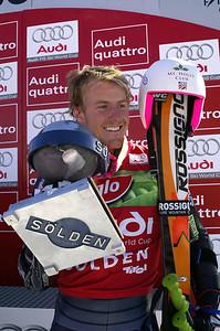 Ted Ligety 2009 Audi FIS Alpine World Cup Solden, Austria Photo © Paganella