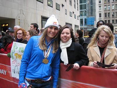 Lindsey Vonn - 2009 New York City Media Tour