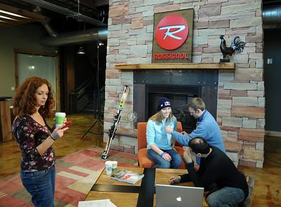 Lindsey Vonn Satellite Media Tour - Mar. 17, 2009