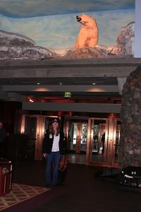 Lindsey Vonn arrives at Alyeska Resort for the Nature Valley U.S. Alpine Championships (Jen Desmond/USSA)