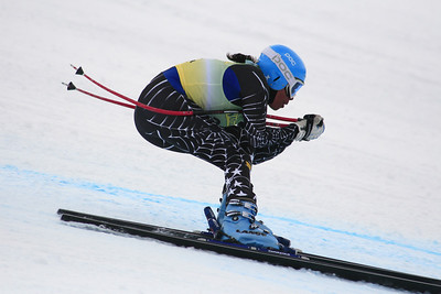 Danielle Govan 30th Place Women's Downhill at the Nature Valley U.S. Alpine Championships (Jen Desmond/USSA)