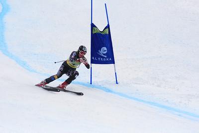 Kaylin Richardson 1st Place Women's Downhill at the Nature Valley U.S. Alpine Championships (Jen Desmond/USSA)