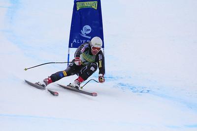 Erik Fisher 2nd Place Men's Downhill at the Nature Valley U.S. Alpine Championships (Jen Desmond/USSA)