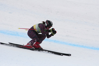 Mary Sackbauer 25th Place Women's Downhill at the Nature Valley U.S. Alpine Championships (Jen Desmond/USSA)