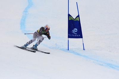 Annie Rendall 38th Place Women's Downhill at the Nature Valley U.S. Alpine Championships (Jen Desmond/USSA)