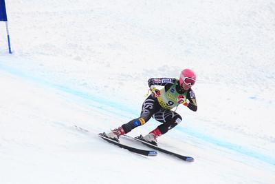 Keeley Kelleher 4th Place Women's Downhill at the Nature Valley U.S. Alpine Championships (Jen Desmond/USSA)