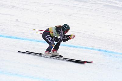 Alice McKennis 6th Place Women's Downhill at the Nature Valley U.S. Alpine Championships (Jen Desmond/USSA)