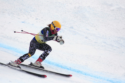 Lauren Samuels 15th Place Women's Downhill at the Nature Valley U.S. Alpine Championships (Jen Desmond/USSA)