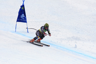 Stacey Cook 3rd Place Women's Downhill at the Nature Valley U.S. Alpine Championships (Jen Desmond/USSA)