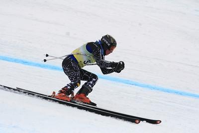 Vanessa Berther 20th Place Women's Downhill at the Nature Valley U.S. Alpine Championships (Jen Desmond/USSA)