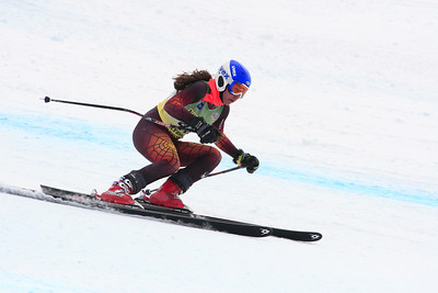 Taylor Verdun 39th Place Women's Downhill at the Nature Valley U.S. Alpine Championships (Jen Desmond/USSA)