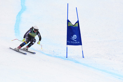 Julia Ford 7th Place Women's Downhill at the Nature Valley U.S. Alpine Championships (Jen Desmond/USSA)