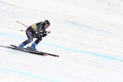 Julia Littman 13th Place Women's Downhill at the Nature Valley U.S. Alpine Championships (Jen Desmond/USSA)