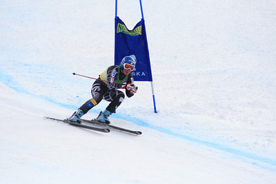 Chelsea Marshall 5th Place Women's Downhill at the Nature Valley U.S. Alpine Championships (Jen Desmond/USSA)