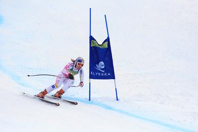 Lindsey Vonn 8th Place Women's Downhill at the Nature Valley U.S. Alpine Championships (Jen Desmond/USSA)