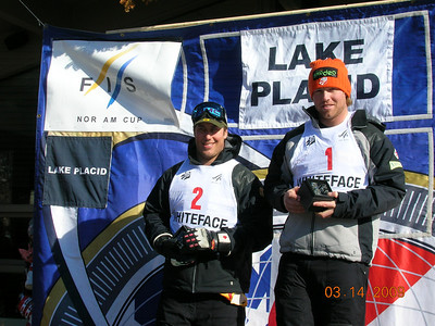 NorAm DH Series, Eric Fisher-USA 1st, Louie-Pierre-CAN, 2nd (tie w/Bryon Friedman-USA