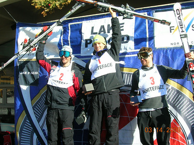NorAm GS Series Winners  Brad Spence-CAN, 1st, Jeffery Frissch-CAN, 2nd, Warner Nickerson-USA, 3rd