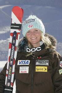 Keely Kelleher 2009-10 U.S. Alpine Ski Team  Photo © Brian Robb
